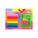 Nara Modeling Clay 6 Assorted Colors 60 g + 1 Mold