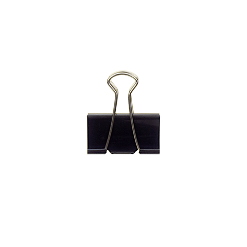 Plus Binder Clip Black 32 mm