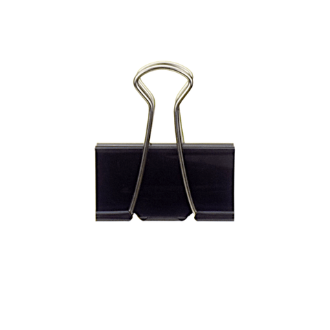 Plus Binder Clip Black 51 mm