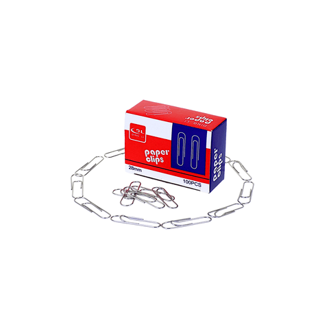 DL Paper Clip 28 mm Box of 100