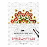 Pepin Artists' Coloring Book - Barcelona Tiles