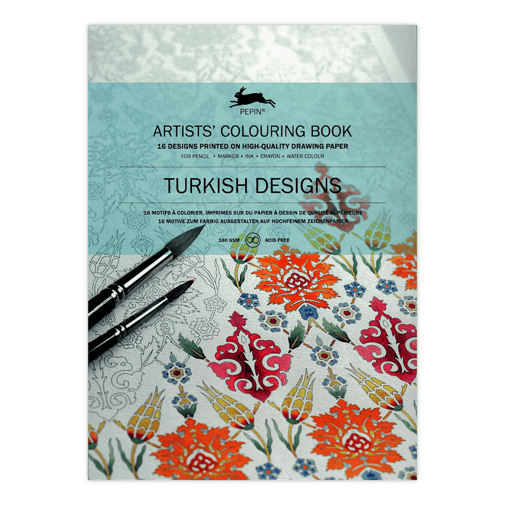 Pepin Artists\' Coloring Book - Turkish Designs – Bayan eShop