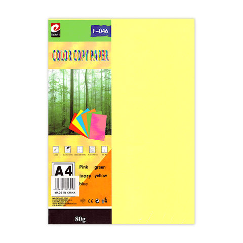 Erp Colored Copy Printer Paper A4 Pack of 5 Colors