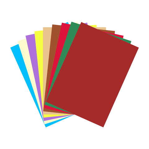 Apple Colored Chart Paper Sheet 180 gsm B1 Sheet
