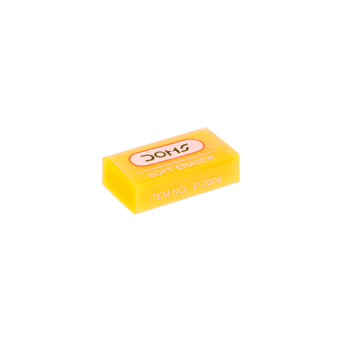 Doms Neon Color Eraser Small