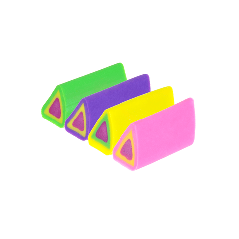 Doms Triangular Colored Eraser