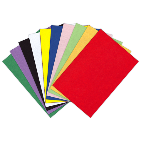 Generic Colored Craft Felt Sheet 50 x 70 cm