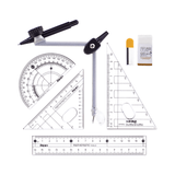 Iho Maths Geometry Drafting Set 7 Pcs