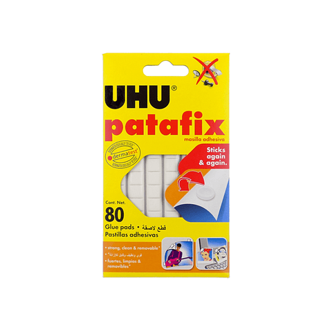 UHU Patafix Glue Pads Pack of 80