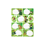 Generic Name Label Sticker Sheet of 7 + 2 Stickers