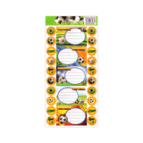 Generic Name Label Sticker Sheet of 5 + Mini Stickers