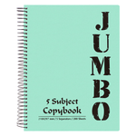 Mintra Jumbo Spiral Notebook 5 Subjects 200 Sheets A4