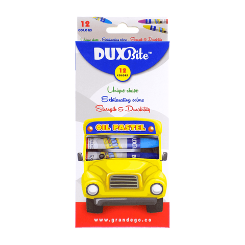 Duxbite Oil Pastel Colors Set of 12