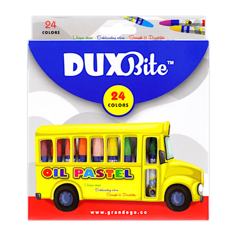 Duxbite Oil Pastel Colors Set of 24