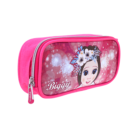 Pippa Kids Canvas Zippered Pencil Case