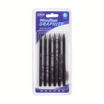 Baroque Woodless Graphite Pencils Set of 6