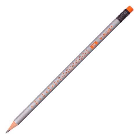Y-Plus Star Wooden Pencil with Eraser Head