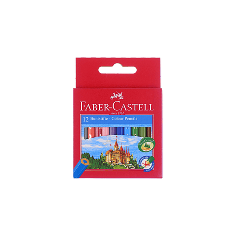Faber-Castell Eco Short Colored Pencils Box of 12