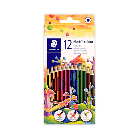 Staedtler Noris Color Colored Pencils Box of 12