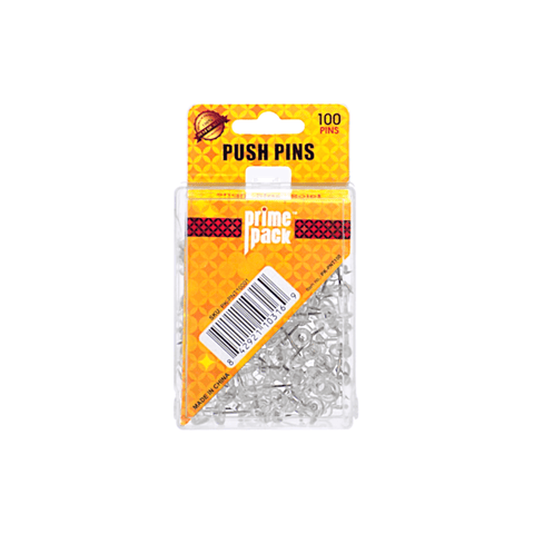 Primepack Push Pin Box of 100