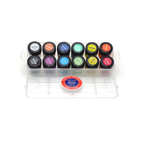 Micro Poster Color Set Box of 12 Jars
