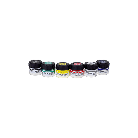 Micro Poster Color Set of 6 Jars