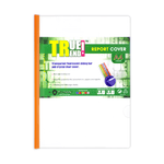 True Trend Plastic Presentation File with Sliding Bar Clear A4