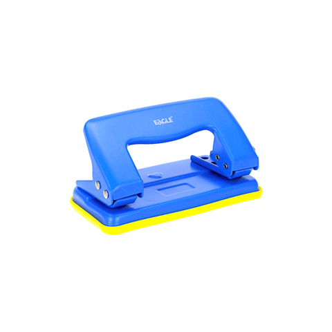 Eagle Two-Hole Mini Punch 8 Sheets Blue