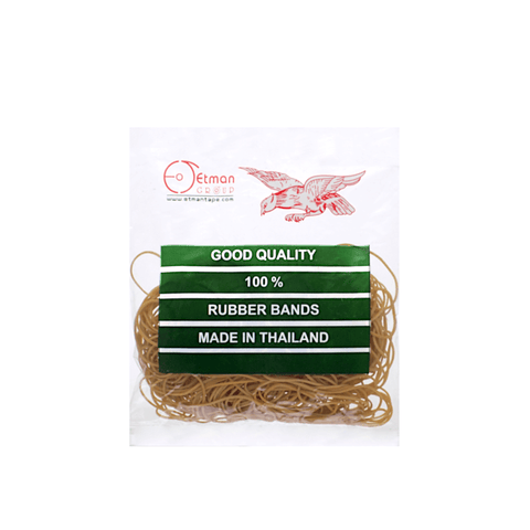 Etman Rubber Bands Pack of 200