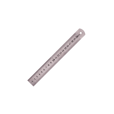 Generic Stainless Steel Ruler 20 cm