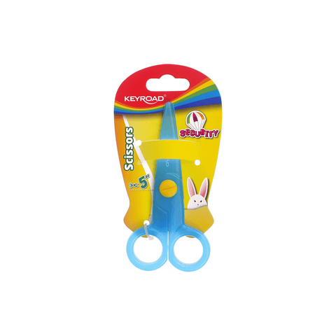 Keyroad Safe Cutting Neon Colors Scissors for Kids