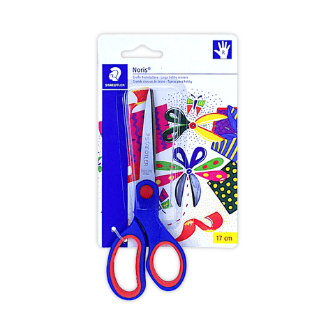 Staedtler Noris Soft Grip Scissors 17 cm