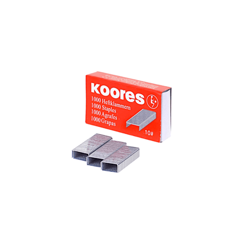 Koores Staples No. 10 Box of 1000