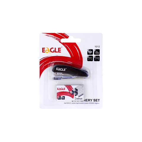 Eagle Mini Stapler 8 Sheets + Box of 500 Staples