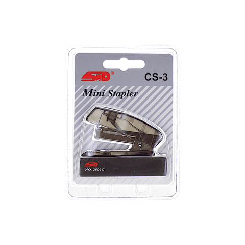 STD Mini Stapler 20 Sheets + Staples Box