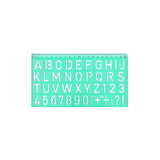 Ark Letters & Numbers Stencil