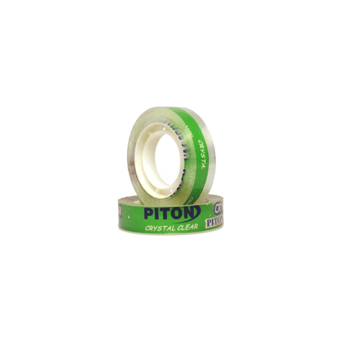 Piton Stationery Adhesive Tape 12 mm Clear