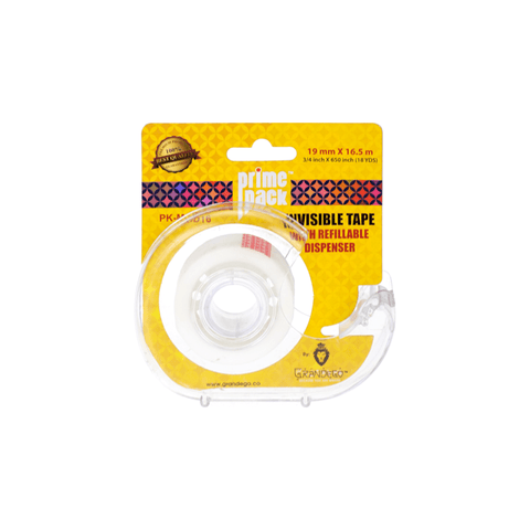 Primepack Invisible Adhesive Tape + Dispenser