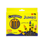 M&G Jumbo Wax Crayons 100 mm Pack of 12