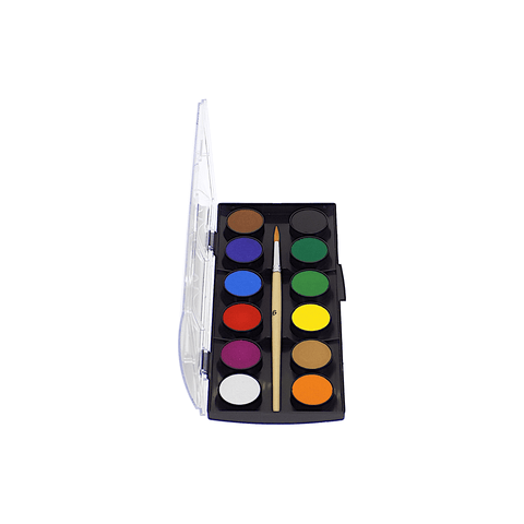 Faber-Castell Watercolor Cakes Set of 12