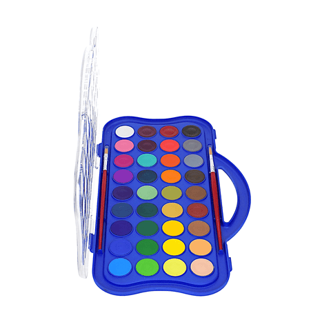 Doms Water Color Cakes Set of 36