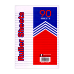 APP Writing Paper Double Sheet Lined A4 Pack of 90