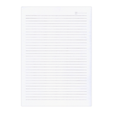 Sasco Writing Paper Double Sheet Lined A4 Pack of 20