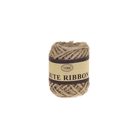 Generic Natural Craft Jute Twine Rope Roll 10 m