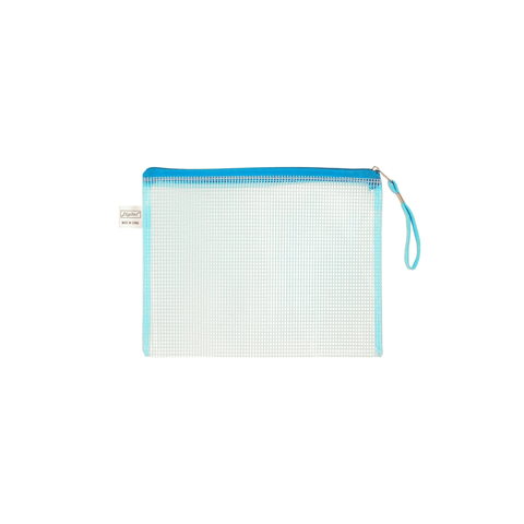 Digital Mesh Zipper File Bag A5