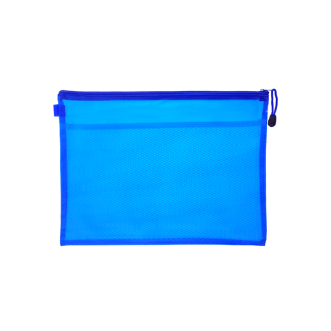 Generic Soft Zipper File Bag A4