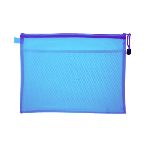 Generic Soft Zipper File Bag B4