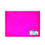 Benge Plastic Colored Zipper Bag Foolscap