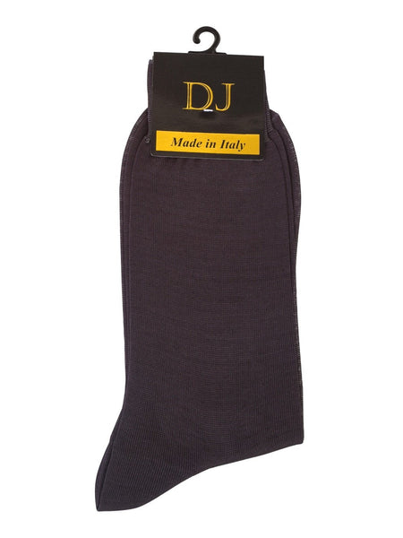 100% Mercerized Cotton Socks -Grey Colour