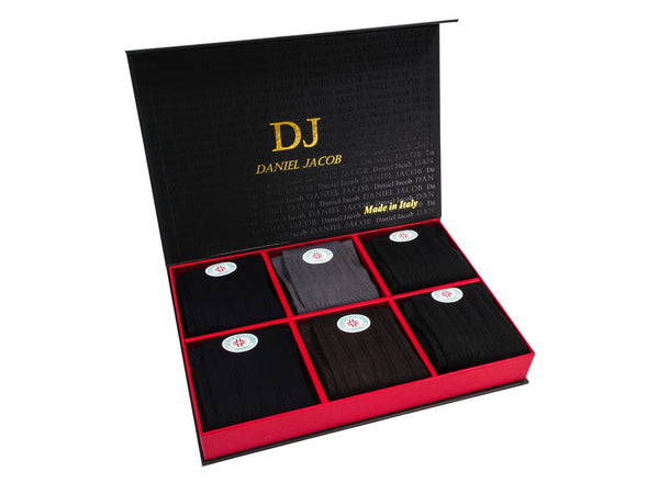 6 100 % Mercerized Cotton Diabetic Socks In Luxury Gift Box